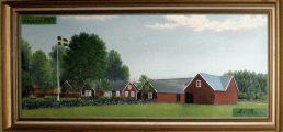 "Ängarna, ""naive farm painting"" 1927"