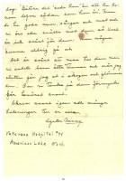Nanny Mårtensson, kort biografi samt dagboken från Alaska, sid 14 (34)