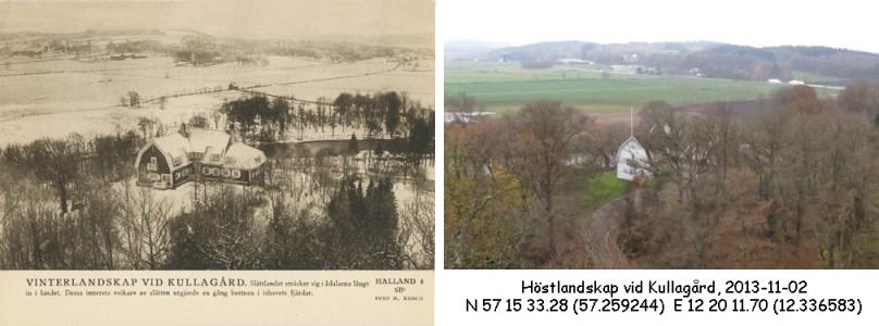 STF vykort nr 4 -Vinterlandskap vid Kullagård