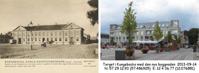 STF vykort nr 27 -KUNGSBACKA, GAMLA GÄSTGIVAREGÅRDEN
