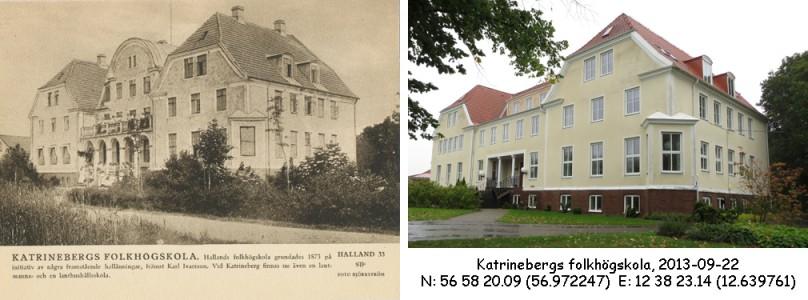 STF vykort nr 33 -KATRINEBERGS FOLKHÖGSKOLA