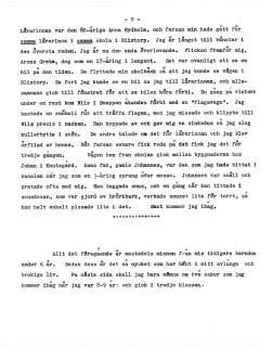 Arnes barndomsminnen sid 09