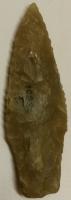Pilspetsen, ca 6,5 cm lång