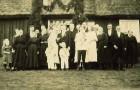 Astrid och Birgers bröllop på Knäckeberg