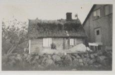 Stenstorp gamla huset med nybygget 1945