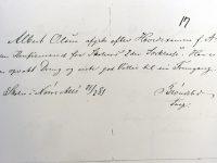 1881 Albert_E_L_Olsen-Skolintyg