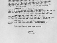 1914 Ansökan till Skonerten Ingolf