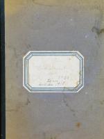 Arons kassabok 1 juli 1908 - 31 dec 1911