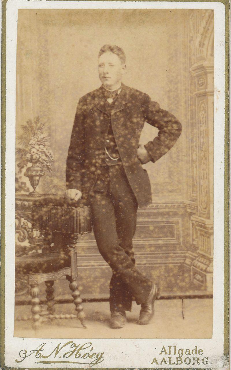 Karl fra Restrup kro -- hos bestefar 1