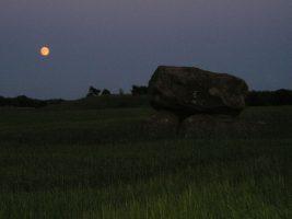 The Gantofta dolmen, nearest neighbohur