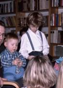 1988 Gantofta, Göte, Viktor, Jonas, Christina, Sofie och Linda bakifrån
