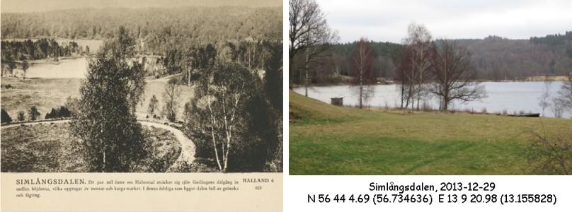 STF vykort nr 6 -Simlångsdalen