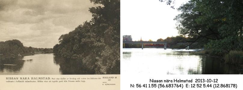 STF vykort nr 10 -Nissan nära Halmstad