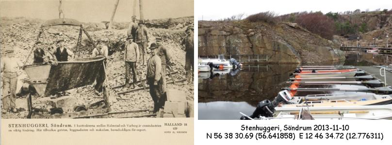 STF vykort nr 18, STENHUGGERI, Söndrum