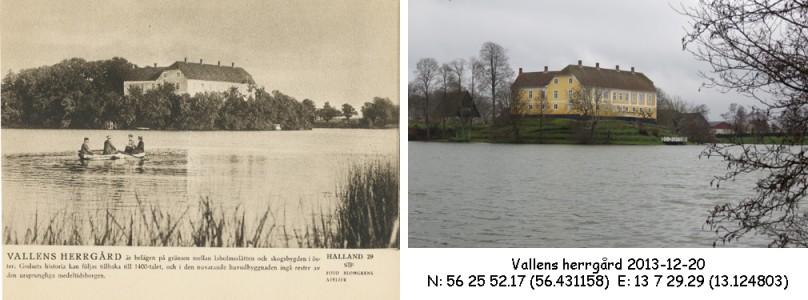 STF vykort nr 29 -VALLENS HERRGÅRD