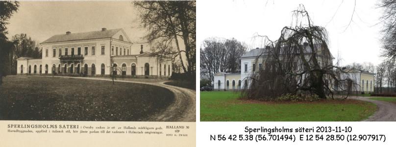 STF vykort nr 30 -SPERLINGSHOLMS SÄTERI