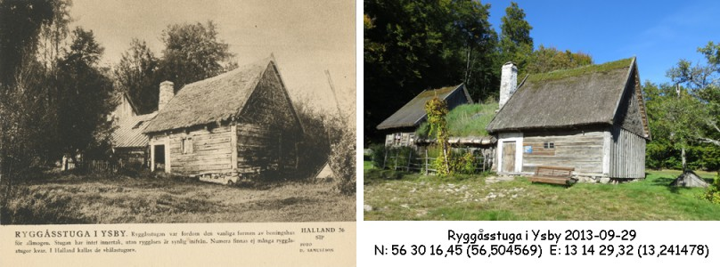 STF vykort nr 36 -RYGGÅSSTUGA I YSBY