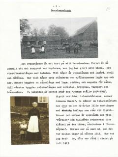Arnes barndomsminnen sid 01