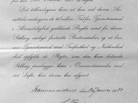 1923 Befordran till Dagsofficiersassistent