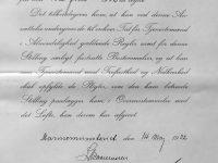 1932 Befordran till Artilleri-Kvartermester