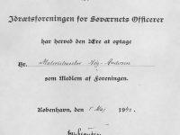 1942 Medlen i Sjövärnsofficerarnas idrottsförening