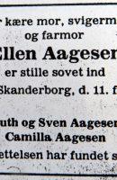 1984 Ellen_Aagesen-Dödsannons